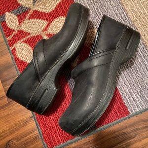 Professional Black Oiled Dansko clogs
